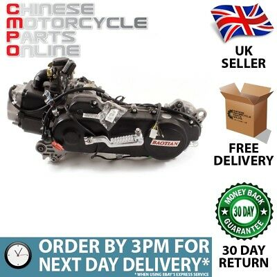50cc Scooter Engine 139QMB with 460mm Case, Short Shaft (ENG007)