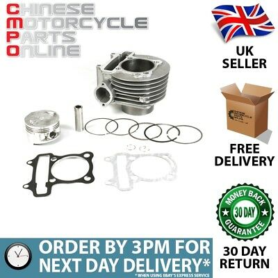 Lextek 170cc Lextek Top End Big Bore Cylinder Kit GY6 152QMI (TECK08)