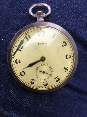 Victorian Solid Silver Pocket Watch