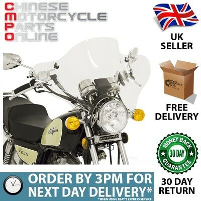 Universal Motorcycle Windscreen (UNWNDSCR11)