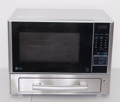 LG LCSP1110ST 1.1 Cu Ft Counter Top Combo Microwave Baking Oven Stainless Steel