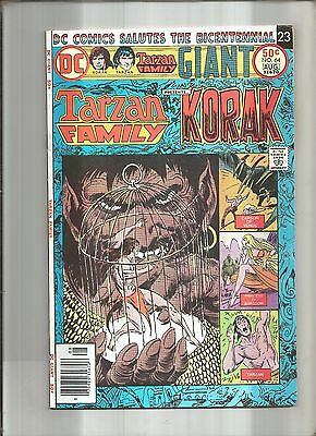Tarzan Family #64  Korak * John Carter  Joe Kubert  Giant-Size  Dc 1976  Nice!!!