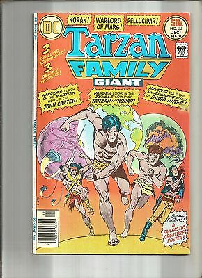 Tarzan Family #65  Korak  Hard To Find Last Issue  Giant-Size  Dc 1976 Nice!!!