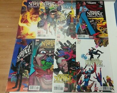 Doctor Strange and the Sorcerers supreme #1-#8