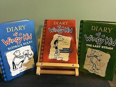 Diary of a Wimpy Kid Box of Books 1-3 (hardcover)