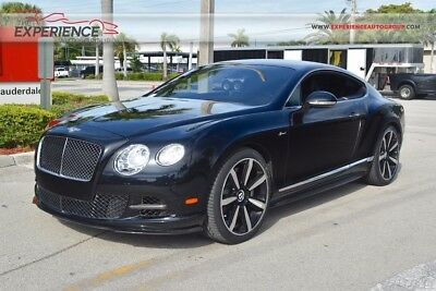 2015 Bentley Continental GT Speed 21 Elegant Classic Pack Carbon Fiber Ventilated Massage Contrast Deep Pile