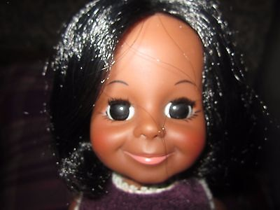 Vintage Ideal Velvet Doll AA Black Crissy Family Original No Box
