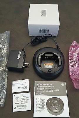 NEW Motorola PMLN5228AR Rapid Charger Kit for CP185 Radio