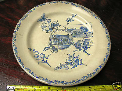 W.H. GRINDLEY & CO. TUNSTALL SHAKESPEARE PLATE 1800's