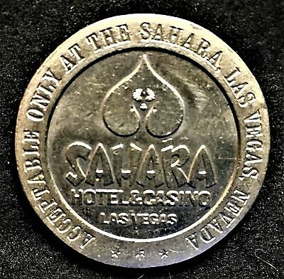 Sahara Las Vegas $1 Gaming Token dated 1969
