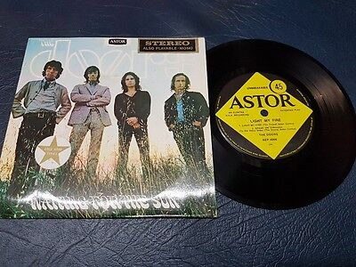 The Doors - Waiting for the Sun Australian EP Vinyl RARE