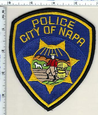 City of Napa Police (California) Shoulder Patch - new from the 1980's