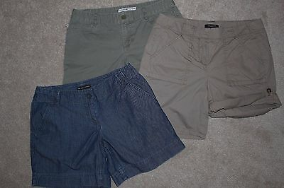 EUC Lot of 3 pairs of summer shorts NY & CO, Tommy Hilfiger, Ann Taylor sz 4