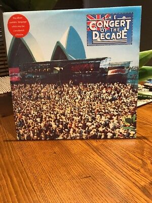 Concert Of The Decade Vintage Record Lp