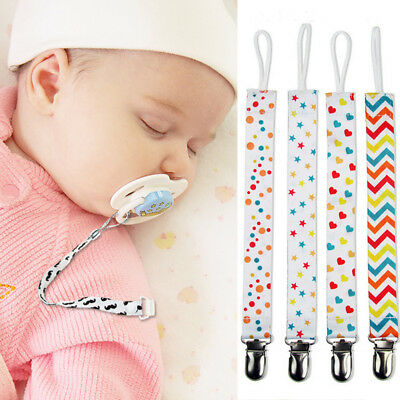 Lovely Baby Kids Chain Clip Holders Dummy Pacifier Soother Nipple Leash Strap
