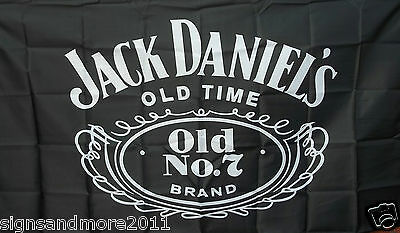 JACK DANIELS FLAG 90 x 150cm FREE POST