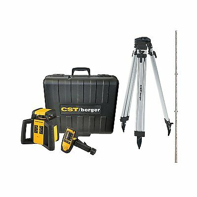 CST/berger RL25HCK Horizontal/Exterior Self-Leveling Rotary Laser Complete Kit