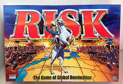 Strategy Board Game: Risk - The Game of Global Domination, Parker 1998 (6035)
