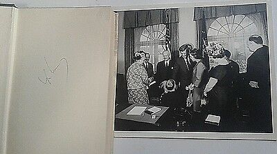 John F Kennedy Signed The Making Of The President Book & Photo Owned By Jfk Coa