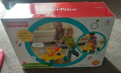 Fisher Price  Baby Walker Ride On Toy - 1St Birthday Gift - Stride To Ride Lion