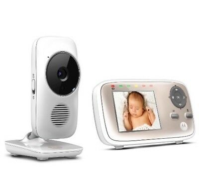 Motorola MBP667 Connect Wi-Fi Video Baby Monitor View From Anyway Baby CCTV New