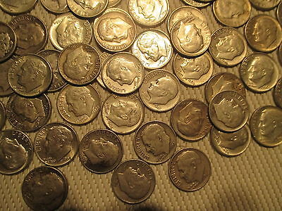 Mercury and Roosevelt Dimes