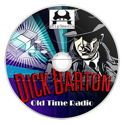 Dick Barton (OTR) Crime / Detective Old Time Radio (mp3 CD)