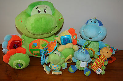 Playgro Pond Discovery Sounds Frog Educational Interactive + Turtle Rattle ++