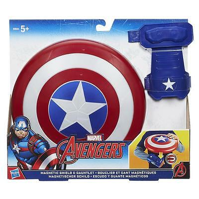 Marvel Avengers Captain America Magnetic Shield & Gauntlet Play Set / Age 5+
