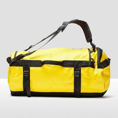 New The North Face Base Camp Duffel Bag (Large) Outdoors Holdall 17Gold