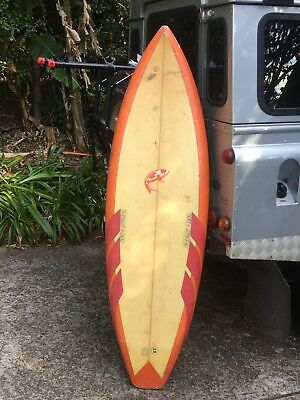Russell Wade Quad Vintage Surfboard