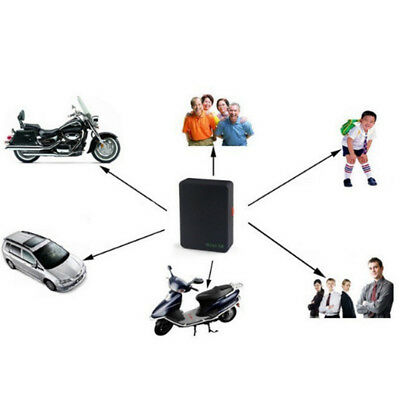 Mini Global Locator Real Time Car Kids Pet Tracker GSM/GPRS/GPS Tracking Black