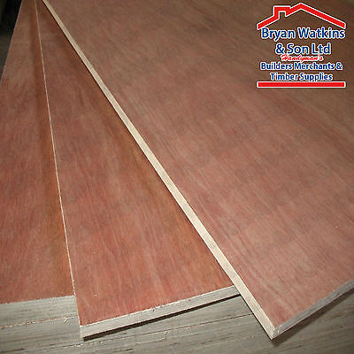 8ft x 4ft WBP Hardwood Solid Core Plywood Sheets Weather & Boil Proof Ply Wood