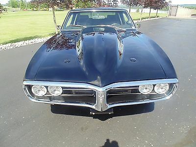 1968 Pontiac Firebird 2 Door Hardtop 1968 Pontiac Firebird 502 Supercharged!!!