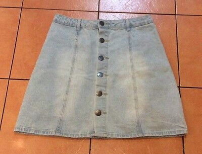 Gorgeous Denim Skirt, (Cotton On), Size 10
