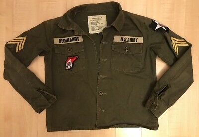 John Lennon Beatles Army Korean War Jacket Uniform Replica Imjin Scouts Womens S