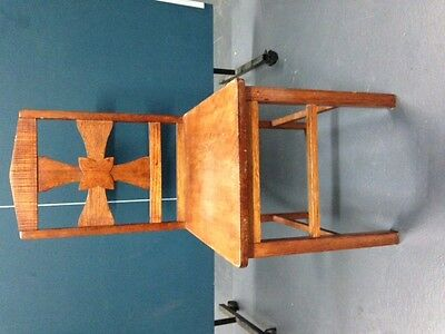 Antique Wooden Chairs x 4