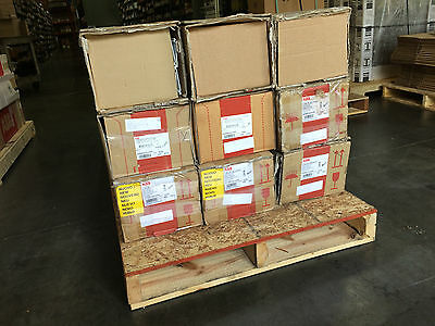 Abb Wire Duct White Variety **lot Of 81 Pcs**
