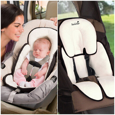 Infant Baby Head Support Car Seat Stroller Pillow Neck Travel Safety Body Black