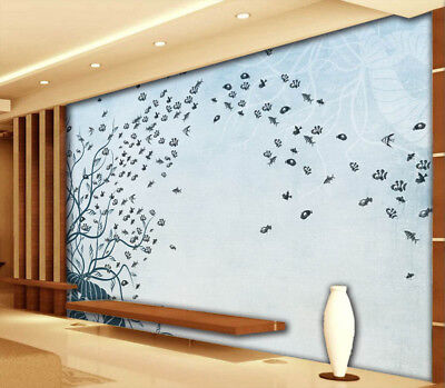 Nice Coralline 3D Full Wall Mural Photo Wallpaper Printing Home Kids Decoration