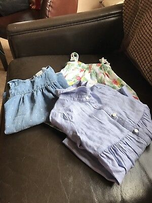 Baby Girls Clothes 6-9 Months From H&M and Zara's 3 Outfits