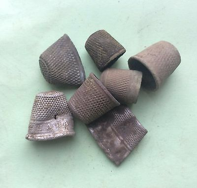 Metal detecting find (old thimbles)