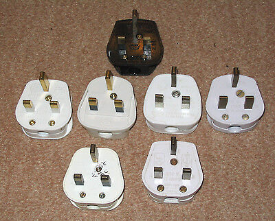 7x  Mains Electrical Plug-13A Fuse fitted Plug 3 PIN Appliance UK Power (3