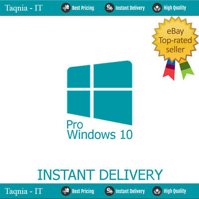 Windows 10 Pro 32 / 64Bit Genuine Oem Original License Key - Defective Pc