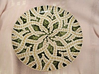 Gorgeous Rare Antique Signed Large Japanese Kutani Plate 19th Century or Earlier