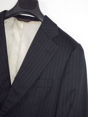 Paul Stuart 2 Button Vented Blue Pinstripe Suit Sz. 41 S