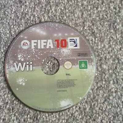 Nintendo Wii Game_Fifa 10..disc Only