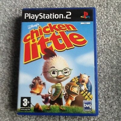 Playstation 2 Game_Chicken Little... No Manual