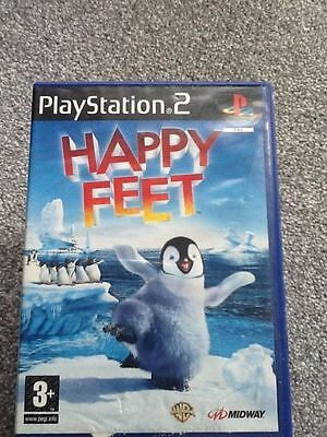 Playstation 2 Game_Happy Feet + Manual