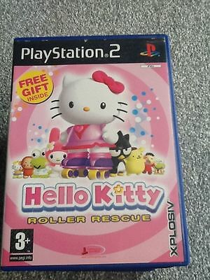 Playstation 2 Game_Hello Kitty : Roller Rescue + Manual